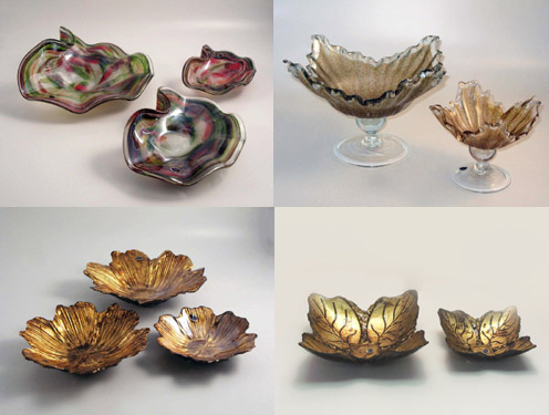 Murano Art Glass Collections from MuranoArtGlass.us - New Centerpieces and Bowls